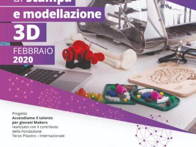 Stampa e modellazione 3D: a Palermo un corso gratuito per giovani makers